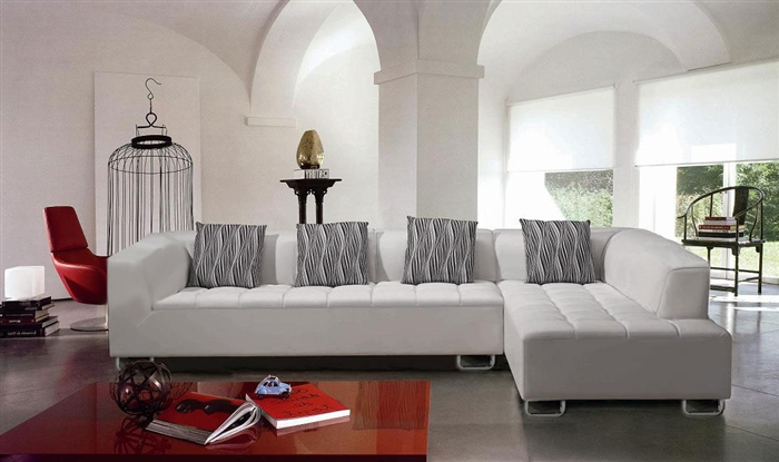 Modern White Sectional Sofa Set TOS-LF-2235