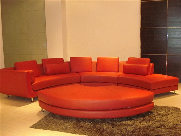 modern style sectional sofa curved tos